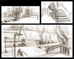 more scenery doodles by LoccoRico