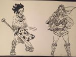 New Character Designs by JordanLCook