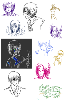 sketchdump: amazing by elven-meito