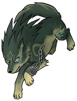 Wolf Link by BatChili