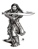 Thorin Oakenshield by Anastina91
