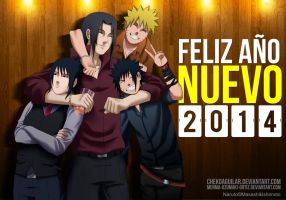 Happy new year 2014 Collab by ChekoAguilar
