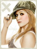 Kelly Clarkson - Colorization by melancholiaxbliss