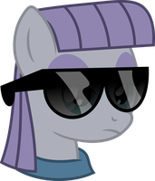 Maud Pie - Deal With It by JackSpade2012