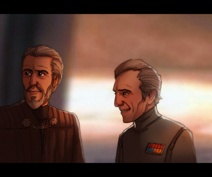 Dooku and Tarkin - Of Friendships Imagined or Real by Teq-Uila