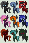 Simple dark color adopts OPEN by momonpata