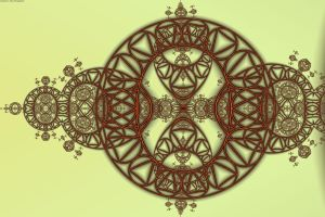 Steiner Chain and Triangles by element90