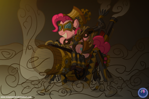 SteamPunk Pinkie by Template93