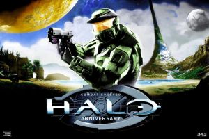 Halo Anniversary Colored by Odinsdeath