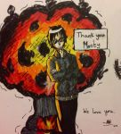 Thank You Monty by fearbronze