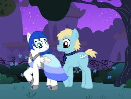 SaphireSong and SeaBreeze At the Gala by saphiresong98