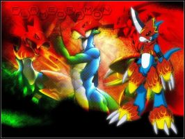 Wallpaper_Flamey by FX20