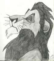 Scar from the Lion King by jojomudkip