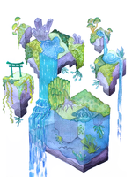 Temple Biome Zeta by shooshu