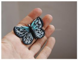 butterfly pendant by charmaleen