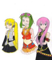 My Voacloid Friends by AngryHero42