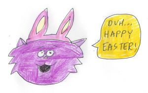 Happy Easter from Mungo by dth1971