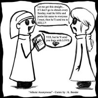 Atheist Anonymous Comic 6 by Devain