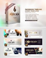 6 Facebook Timeline Covers by pixelfrei