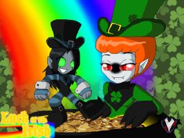 Chibi - Luck of the Irish - Potta' Gold by PlayboyVampire