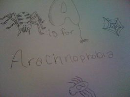 A is for Arachnophobia by MsBritten