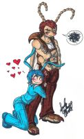 Clingy ant. by brass-kettle