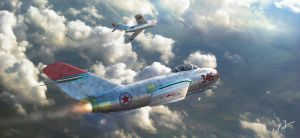 Mig Alley by rOEN911