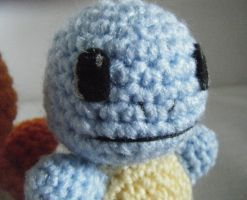 Little Blue Turtle Anime Game Close Up Amigurumi by ChibiSayuriEtsy