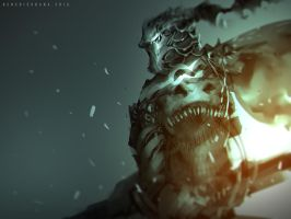 Basilisk Knight by benedickbana