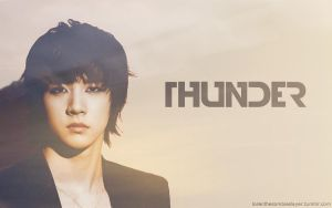 Thunder - Wallpaper by XxDark-ValentinexX
