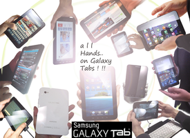 all Hands on Galaxy Tabs by artsoni