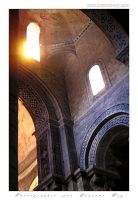 Light in the church by laurentroy
