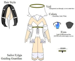 Pixel - Sailor Fylgja Design