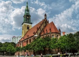 Berlin - St. Marys Church by pingallery
