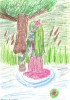 Lady of the Pond by SaphyreMelodies