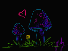 shroom 00 by ChibiPandaMonster