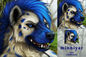 Minniyar Icon Commission by DarkIceWolf