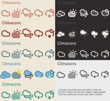 Weather Icons by MisterFatJ