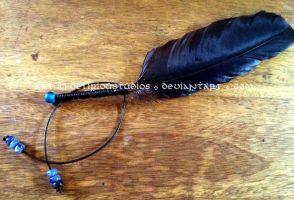 Feather Beading Practice by DeliriouStudios