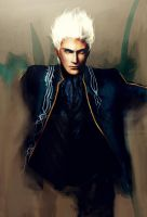 Genuine Blue - DMC3 Vergil by Kunoichi1111