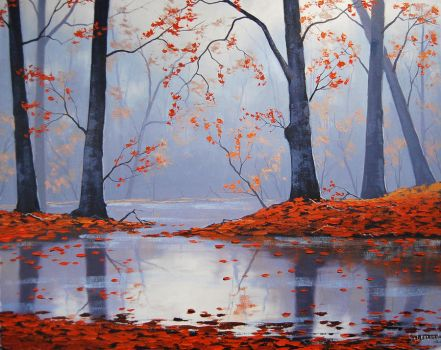 Woodland Reflections by artsaus