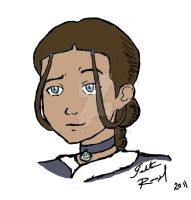 Katara from the Watertribe by talita-rj