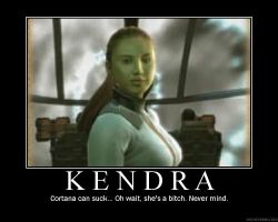 Dead Space Kendra Motivational by Vickin15