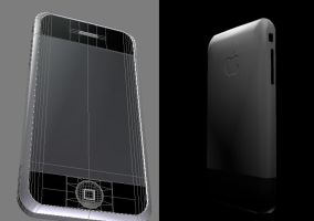 iPhone in 3D by iphone