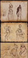 2014 OCT Concept Sketches by RobinRone