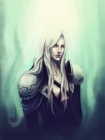 Sephiroth by RobasArel