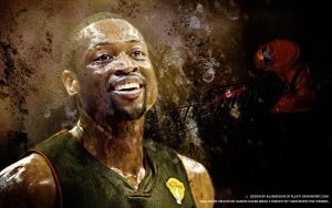 Dwayne Wade by pllay1