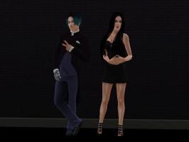 Severus and Cassandra - Formal by BossBumble