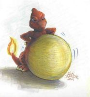 Charmeleon Is Proud by Inflato-Phraggle
