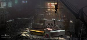 Industrial factory Deadlight by LuisTomas